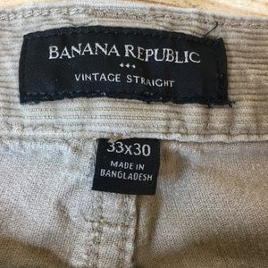 Banana Republic Pants - Banana Republic Men's Pants Size W33 L30 Brown